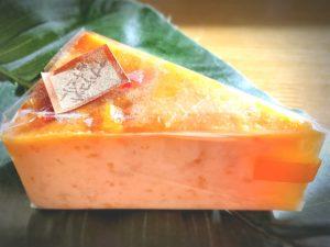 アプリコット&チェリーのチーズケーキ